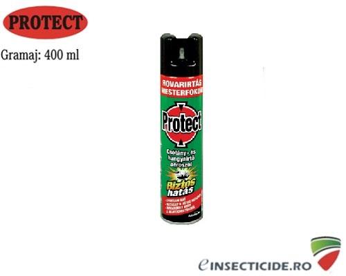 Spray Protect pentru combaterea mustelor si a tantarilor 400 ml