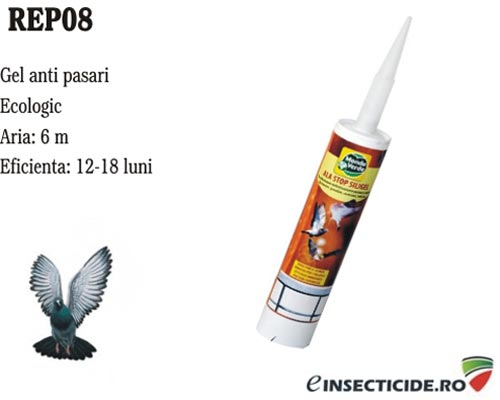 Gel siliconic pentru alungarea pasarilor (300 ml) - REP08