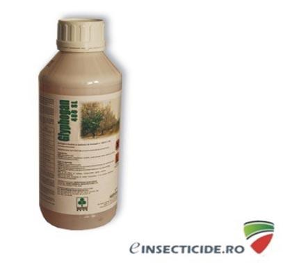 Erbicid pentru eliminarea buruienilor din culturile agricole - Glyphogan 480 SL (1L)