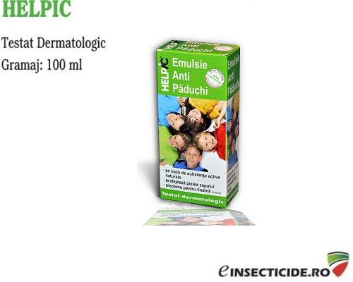 Emulsie contra paduchilor (100ml) - Helpic