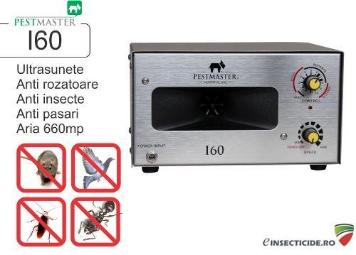 Dispozitiv multifunctional cu ultrasunete anti rozatoare, Pestmaster I60