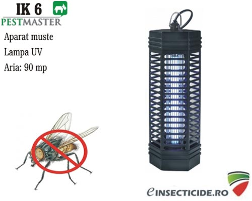 Dispozitiv anti tantari si muste cu lampa UV (90 mp) - Pestmaster IK6