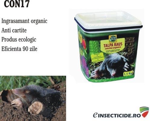 Ingrasamant organic folosit in agriculturi anti cartite 1.2 kg - CON17