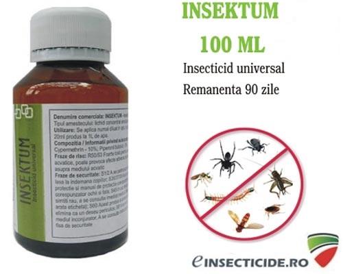 Anti gandaci de bucatarie si alte insecte (100 ml) - Insektum