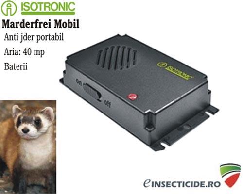 Marderfrei - Aparat ultrasunete anti jderi si dihor portabil (40 mp)