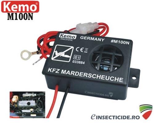Dispozitiv electronic cu alimentare la 12V si ultrasunete pt. protectia auto - M100