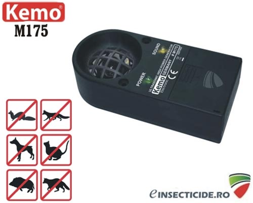 Aparat cu ultrasunete anti animale salbatice - M175