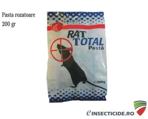 Pasta raticida de culoare verde contra sobolanilor (200gr) - MasterRat