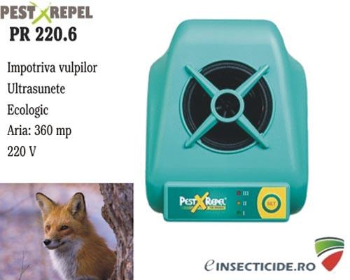 Anti animale salbatice precum vulpi cu ultrasunete (360 mp) - PR220.6