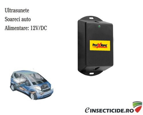 Dispozitiv electronic auto anti rozatoare PestXRepel PR-12.1 - 20 mp