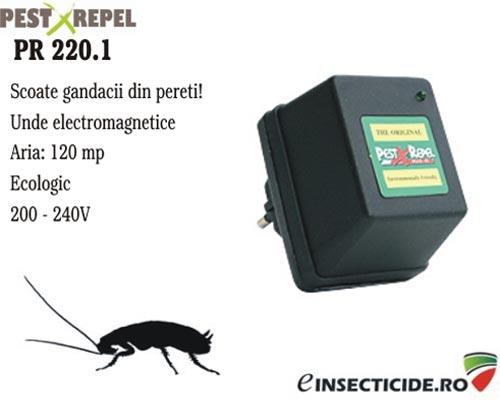 Anti gandaci cu unde electromagnetice (120mp) - PR 220.1