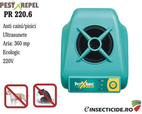 Aparat ultrasunete impotriva pisicilor (360 mp) - PR 220.6