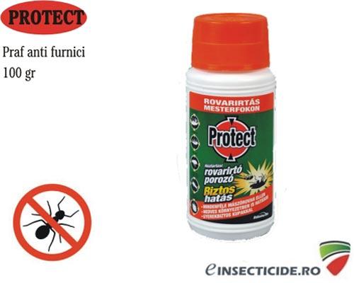 Pulbere contra furnicilor de casa - Protect (100 gr)