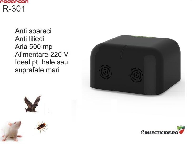 Radarcan R-301 - Aparat cu ultrasunete impotriva sobolanilor, gandacilor si liliecilor