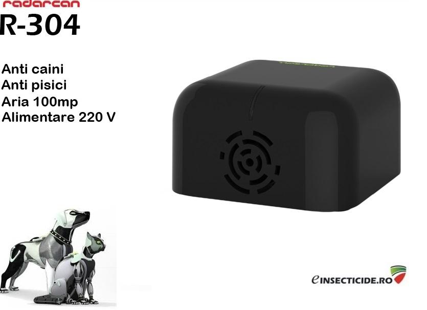 Radarcan R-304 - Aparat cu ultrasunete anti caini/pisici