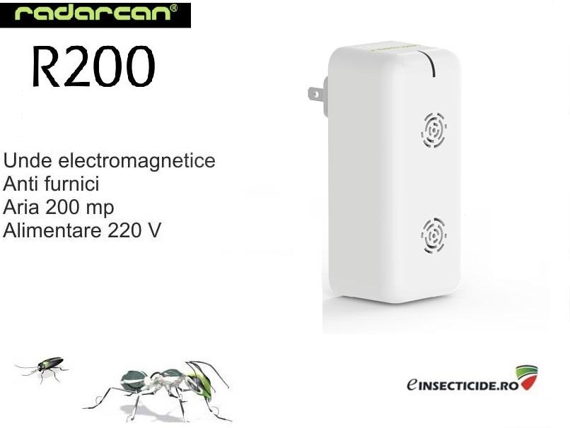 Radarcan R200 - Dispozitiv cu ultrasunete contra taratoarelor si zburatoarelor