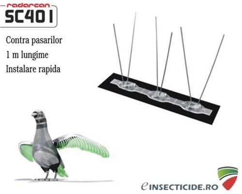 Kit anti pasari si porumbei Radarcan SC401 (lungime 1m)