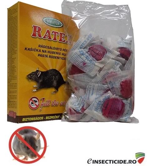 Momeala raticida proaspata (400 gr.) - RATEX pasta