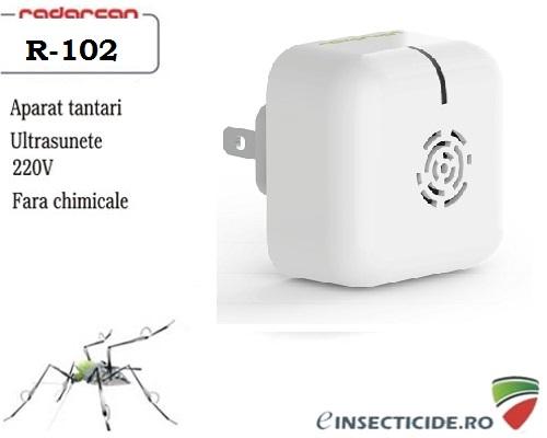 Scapa de tantarii din camera cu ultrasunete (25 mp) - Radarcan R-102