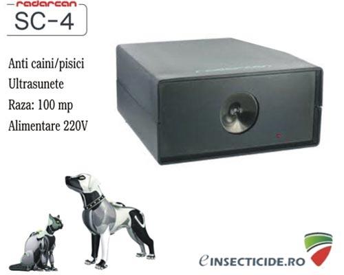 Ultrasunete impotriva cainilor - Radarcan SC4