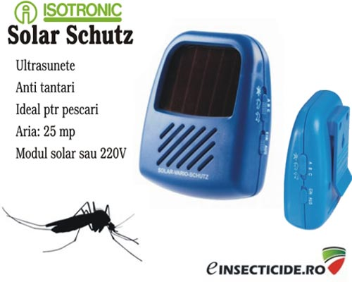Ultrasunete impotriva insectelor - Solar Vario Schutz