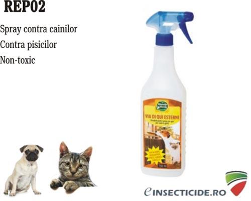 Spray anti pisici, caini pentru exterior (750 ml) - REP02