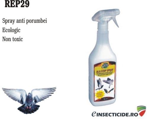 Spray ecologic impotriva porumbeilor (750 ml) - REP29