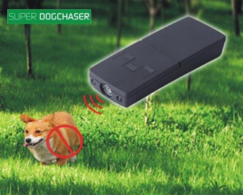 OFERTA!  Impotriva cainilor agresivi cu ultrasunete - Super Dog Chaser (12 mp)