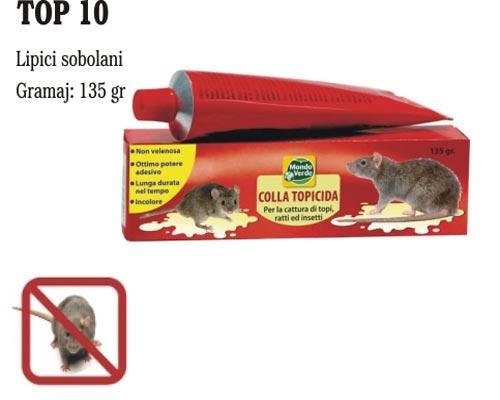 Lipici pentru sobolani - TOP10 (135 gr.)