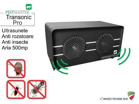 Dispozitiv cu ultrasunete pentru alungarea daunatorilor - Transonic Pro