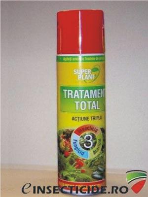 Spray tratament total pentru plante ornamentale (250 ml) - Super Plant