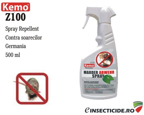 Spray repellent auto concentrat anti soareci (500 ml) - Z100
