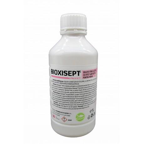 Bioxisept Dezinfectant pentru maini fara clatire cu efect antiseptic, 1L