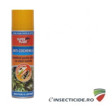 Spray insecticid pentru plante cu efect lustrant Anti-Cochenille (250 ml) - Super Plant