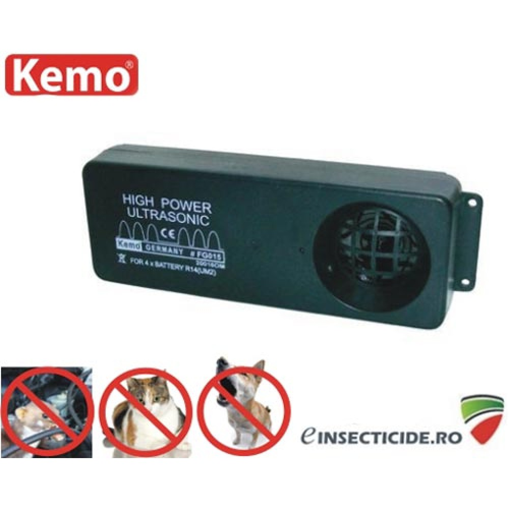 Nou! Generator ultrasunete profesional impotriva animalelor salbatice  (200 mp) - FG015