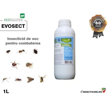 Insecticid pentru combaterea insectelor taratoare si zburatoare (1L) - EVOSECT
