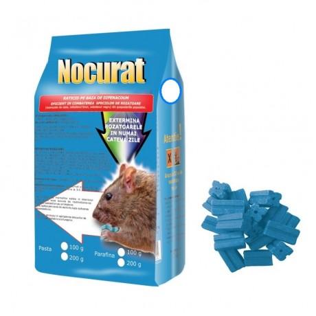 Parafina raticida contra rozatoarelor (100gr) - Nocurat