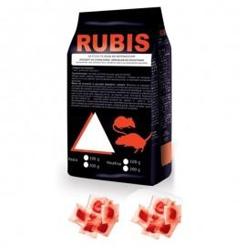 Pasta raticida contra rozatoarelor (100gr) - Rubis