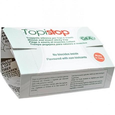 Capcana adeziva din carton cu atractant pentru capturarea soarecilor - Topi Stop