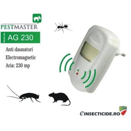 Pest Reject dispozitiv cu unde electromagnetice impotriva daunatorilor (230mp) - AG230
