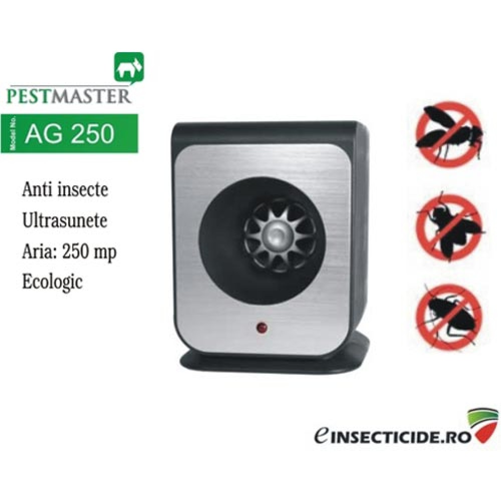 Impotriva daunatorilor cu ultrasunete - Pestmaster AG250 (250 mp)