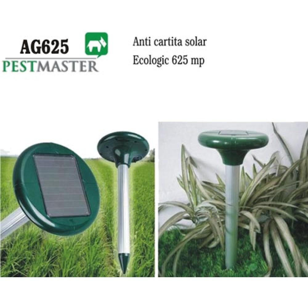 Aparat cartita, soareci de camp si dihori solar cu vibratii (625mp) - Pestmaster AG625
