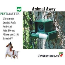 Noul aparat anti caini si alte animale cu ultrasunete (100 mp) - Animal away plus