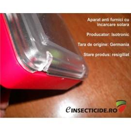 Aparat anti furnici pentru uz exterior cu alimentare solara (700mp)