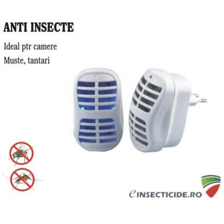 Aparat anti insecte pentru camera copiilor cu lampa UV - 20 mp