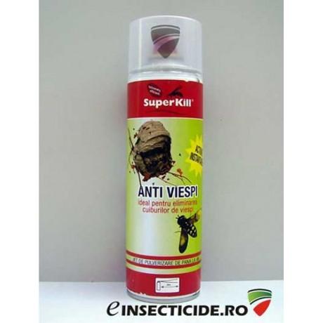 Insecticid pentru eliminarea imediata a viespilor (500 ml) - Super Kill
