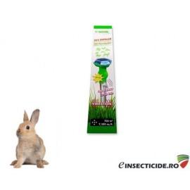 Aparat solar cu vibratii si ultrasunete impotriva iepurilor si a altor rozatoare subterane  (700mp) - Solar Animal Repeller 60020