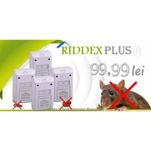 Aparat impotriva soarecilor si gandacilor de bucatarie Riddex Plus - 4 buc. la 99,99 lei