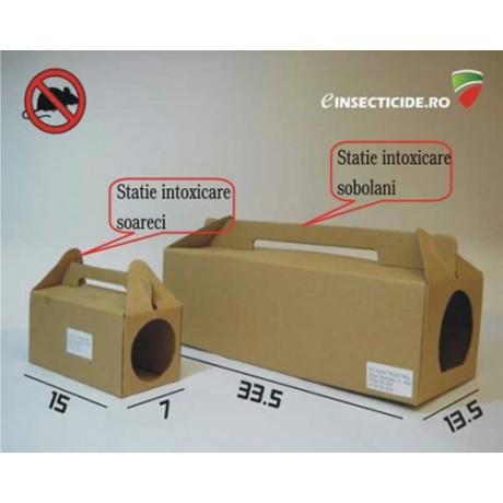 Statie de intoxicare pentru soareci mici - Bait Station