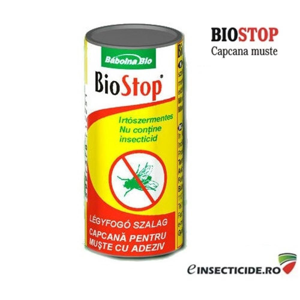 Banda cu lipici anti muste (1 buc) - BioStop